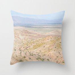 Desert Daze Throw Pillow