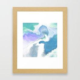 Crystal Reef I Framed Art Print