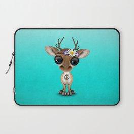 Cute Baby Deer Hippie Laptop Sleeve