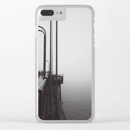 Golden_Gate Clear iPhone Case
