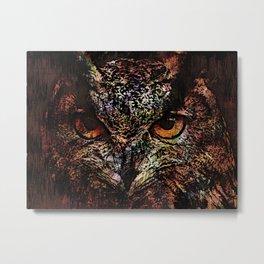 Big Owl Metal Print