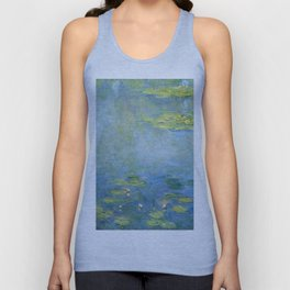 Water Lilies 1906 by Claude Monet Unisex Tank Top