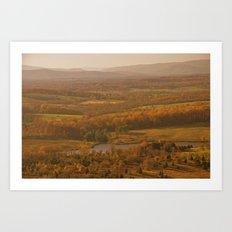 Valley in the Sun Art Print