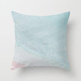 beach - summer of love IV Throw Pillow