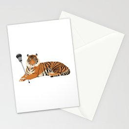 Lacrosse Tiger Stationery Cards