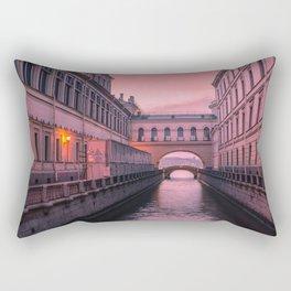 Hermitage Bridge, Saint Petersburg, Russia Rectangular Pillow