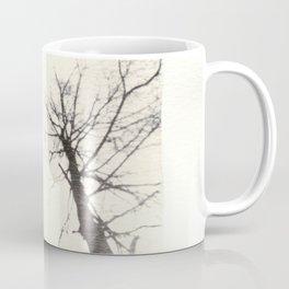 Emulsion Lift 3- Three Ghostly Trees Coffee Mug