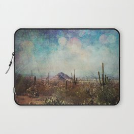 Two little mountains textured Laptop Sleeve