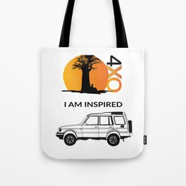 I AM INSPIRED DISCOVERY Tote Bag