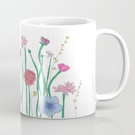SPRING FLOWERS IN BLOOM Coffee Mug