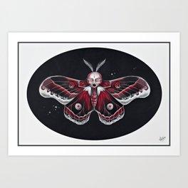 Cecropia Moth Art Print