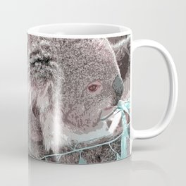 Toony Mum and Baby Koala Coffee Mug