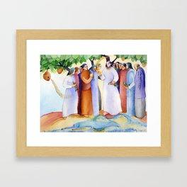 Risen Christ Framed Art Print