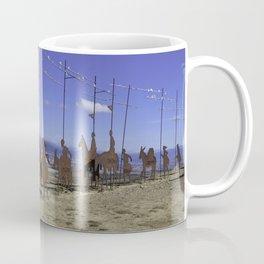 Alto de Perdon, Pilgrim Statue Coffee Mug
