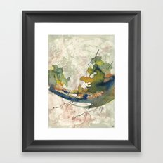 the scent of reality II Framed Art Print