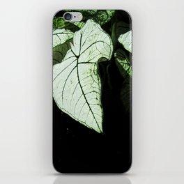 White Leaves iPhone Skin