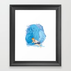 Take me under your wing Framed Art Print