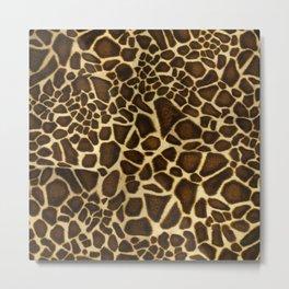 Little Giraffe Metal Print