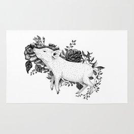 Pig - Go Vegan Rug