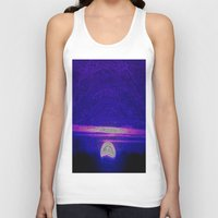 moonrise Tank Tops featuring Moonrise by RingWaveArt