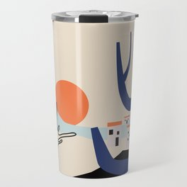 Morning in the valley Travel Mug