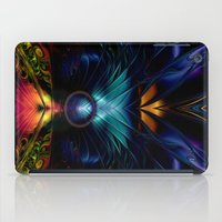 stargate iPad Cases featuring Stargate Fractal Abstract by BohemianBound