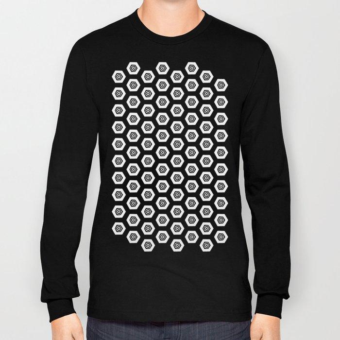Beehive Black Long Sleeve T-shirt