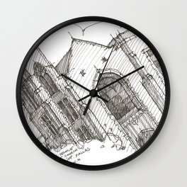 Oa[k]cliff Temple Wall Clock