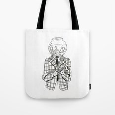 Now, where did he go? Tote Bag