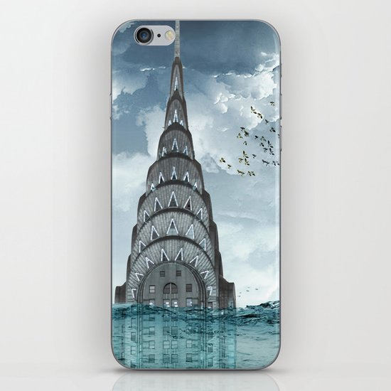 above the water line iPhone & iPod Skin