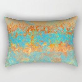 Orange Garden Rectangular Pillow