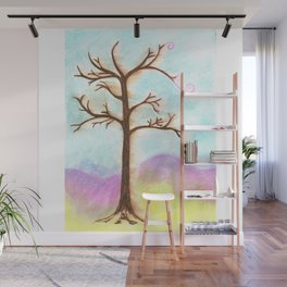 Tree Aura Wall Mural