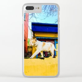 Cats in Buenos Aires #2 Clear iPhone Case
