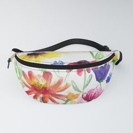 Summer Wildflowers Fanny Pack