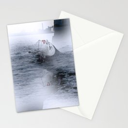 Suffocating or Just Floating? Stationery Cards