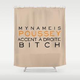 Accent à Droit - Orange is the New Black Shower Curtain