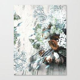 Bouquet Brocante Canvas Print