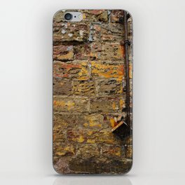 Yellow Wall Texture iPhone Skin