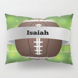 Green Skulls Pillow Sham