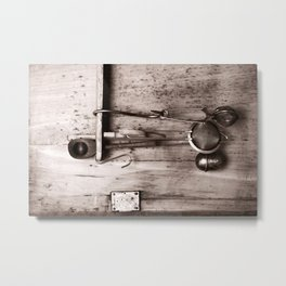 KITCHEN EQUIPMENT Metal Print