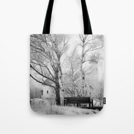 Pt. Iroquois Winter Tote Bag