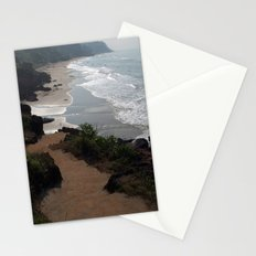 Steps Down to the Beach Varkala Stationery Cards
