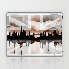 London Skyline 2 Tea Staines Laptop & iPad Skin