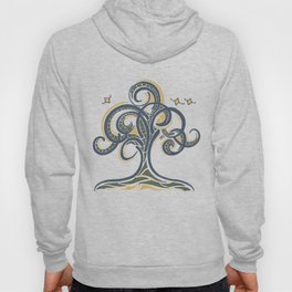 Geometric Tree Hoody