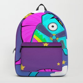 Cute Rainbow Smash Fornite Backpack