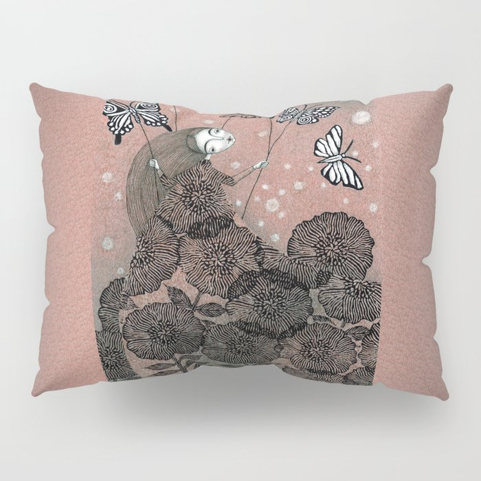 Night Garden (1) Pillow Sham