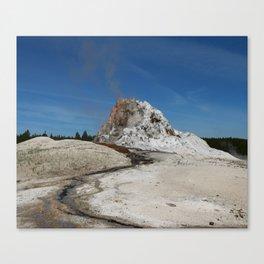 White Dome Canvas Print