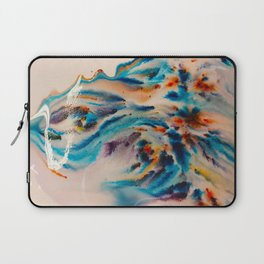 Blue diffusion Laptop Sleeve