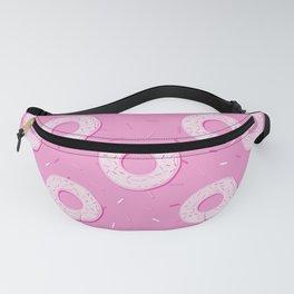 Doughnuts Pattern (Pink duotone) Fanny Pack