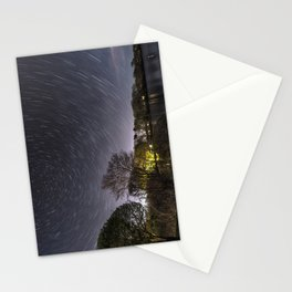 Star Trailing Stationery Cards